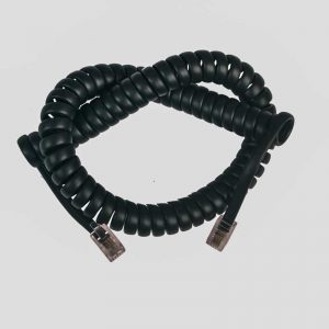 rj12 coiled cable-sprial phone cord